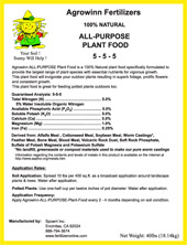 All Purpose Plant Food (100% All Natural)
