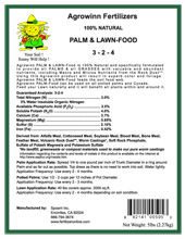 Palm Food (100% All Natural)