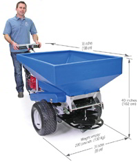 Compost Spreader / Top Dresser